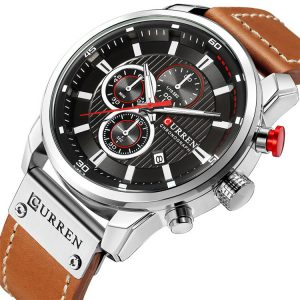 CURREN 8291 Chronograph Metal Case Date Display Quartz Watch