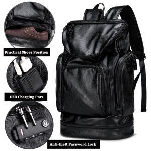 Män Fritid Resor Multifunktionell Multi-Carry ryggsäck