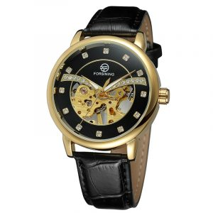 FORSINING H099M Exquisite Fashion Casual Men Självlindande mekanisk armbandsur