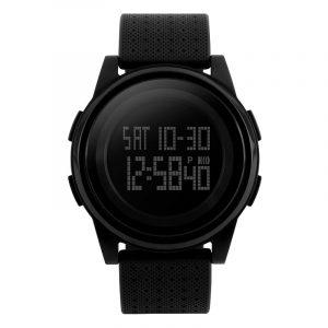 SKMEI 1206 LED Fashion Male Female EL Light 50M Waterproof Digital Watch