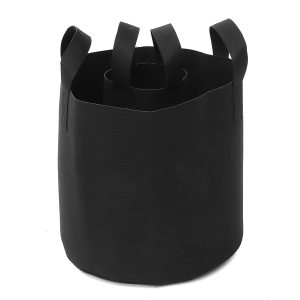 1/2/6/9 Gallon Black Felt Pots Garden Plant Grow Bag Pouch Aeration Container