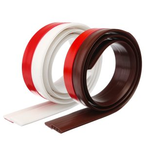 Draught Excluder Door Bottom Sealing Strip Rubber Draft Stopper Noise Insulation