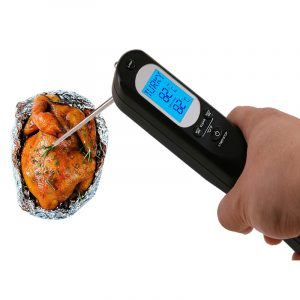 Minleaf ML-CT3 Kitchen Food Thermometer USB Thermometer Alarm Thermometer Temperature Voice Alarm