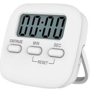 Loskii KC-04 Elektriskt digitalt köketimern Stora siffror Högt larm Magnetiskt stödstativ med stor LCD-displaytimer