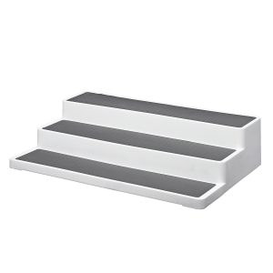 3 Tier Stair Step Cabinet Kitchen Spice Holder Rack Jar Storage Organizer Shelf Kitchen Storage Rack