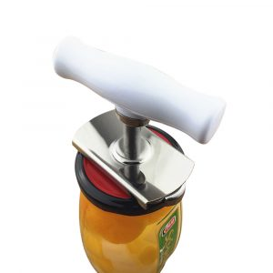 Stainless Steel Non-slip Can Opener Universal Gear Opener Kitchen Can Opener