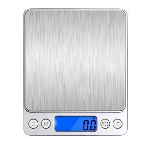 Honana HN-MS1 2000g 0.1g Mini Multi-enhet Konvertering Digital elektronisk kök skalficka smycken