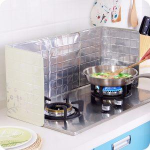 Anti-splatter Sköldvakt Matlagning Stekpanna Oljestänkskärm Hushållsapparater Kökskyddsverktyg