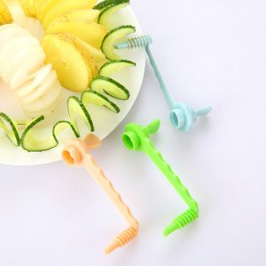 Vegetable Potato Carrot Spiral Slicers Potato Chips Cutter Vegetable Carved Flowers Kitchen Tools Vegetable Cutter