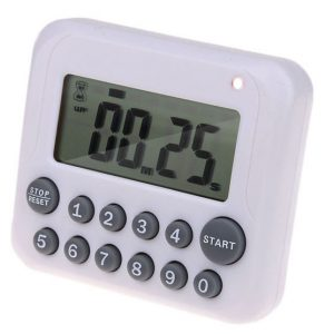 Digital LCD Kitchen Cooking Timer Alarm Count-downn Up Clock Reminder