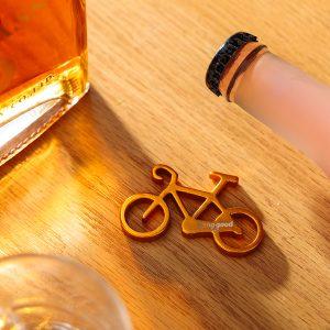 Banggood Logo Anpassa bärbar cykelflasköppnare nyckelring