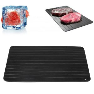 Fast Defrosting Tray Defrost Meat Thaw Frozen Food Magic Kitchen Defrosting Tray Board
