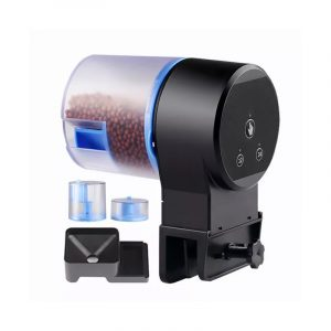 C94969 Intelligent Timing Automatic Feeder Automatic Fish Tank Timer Feeding Dispenser Fish Feeder