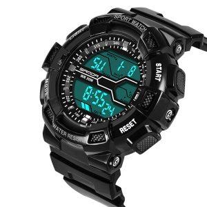 SANDA 378 Military Stopwatch Waterproof Sport Digital Watch