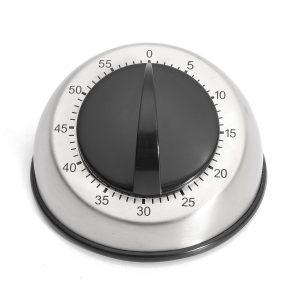 60 minuter rostfritt stål matlagning kök timer timer mekanisk klocka nedräkning alarm