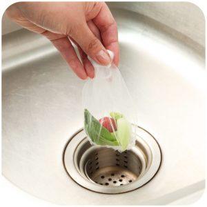 30pcs Sink Filter Bag Food Residue Garbege Filter Strainer Bag Net Kitchen Tool