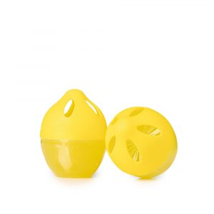 Clean-n-fresh 3PCS Lemon Style Refrigerator Deodorant Refrigerator Odor Eliminator Romver Home Air Purifier