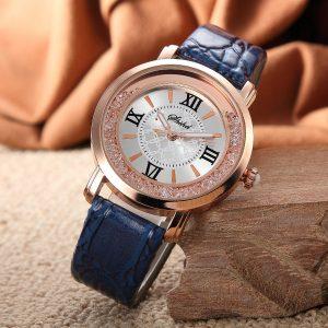 Fashion Women Leather Quartz Watch