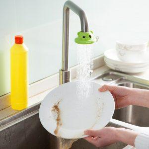 Honana CF-SF015 Kök Justerbar pratisk kran Vattenbesparande duschstänk vattenfilterventil