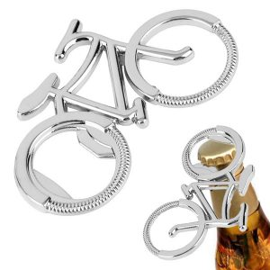 Portable Creative Bicycle Bottle Beer Opener Keychain Key Ring For Cycling Bike Lover
