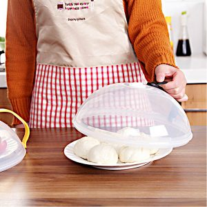 Honana CF-BC23 Multipurpose Seal Stack Bowl Cover Microwave Refrigerators PP Keep Fresh Plate Cover