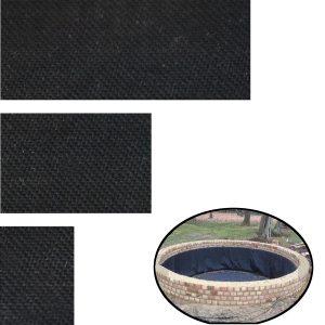 100Pcs Self Adhesive Pond Liner Tape Repair EPDM 150X100MM/150X200MM/150X300MM