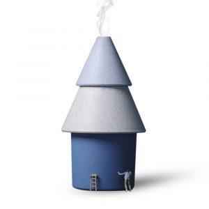 Park Life PY-JSQ-005 Mini Tree Luftfuktare Elektrisk luftrenare USB Bärbar Ultraljudsfuktare för bilkontor sovsal 250ML Mist Maker