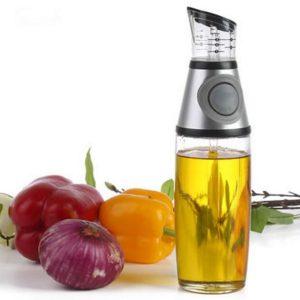 500 ml kökglas olivolja vinäger dispenser hälla flaska med no-dropp pip