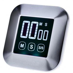 LCD Digital pekskärm Köketimern Praktisk matlagningstimern Nedräkning Räkna UP Väckarklocka