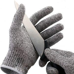 KCASA KC-CG01 1 Par HPPE högpresterande nivå 5 Skydd motståndsklädda resistenta handskar