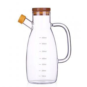 23 oz Olive Bottle Set Vinegar Dispenser Container Pourer Sprayer Kitchen Storage Container