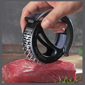 KCASA KC-MT052 rostfritt stål 48 blad Kött smörjare Nål biff griskött nötkött verktyg