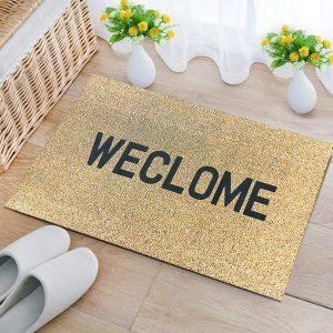 45x70cm WECLOME Non Slip Fluff Rubber Door Mat Home Indoor Floor Carpet Rugs