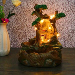 LED kreativa växter kruka blommor växter saftiga DIY behållare hem trädgårdsdekorationer