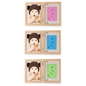 New Born Baby Hand Foot Print Soft Clay Photo Frame