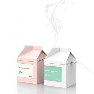 Bcase MILK BOX Humidifier Mini Humidifier Energy-saving USB Office Hydrating Humidification