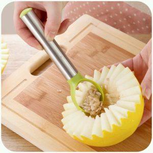 Multifunctional Dig Kiwi Cantaloupe Pitaya Mango Flesh Fruits Seeds Remove Device Kitchen Tool