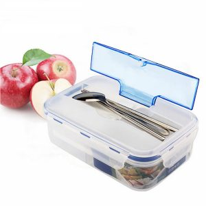 KCASA KC-FY01 Portable Microwave PP Lunch Box With Tableware MultiCell Large Capacity Food Container