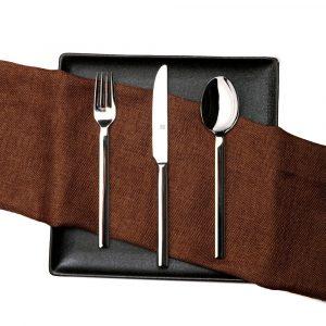 HUOHOU Stainless Steel Dinnerware Set  Fork + Cutter + Soup Spoon 3PCS/Set Kitchen Dinnerware From Xiaomi Youpin