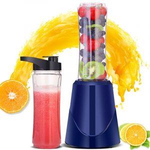 400ML 200W Electric Fruit Juicer Multifunction Mini Portable Home Smoothie Blender Maker