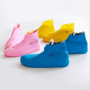 Disposable Silica Gel Rain Shoe Cover Waterproof Overshoes Durable Dustproof Shoes Storage Case