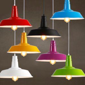 Modern industriell metallstil Takhänglampa Lampskärmar Lampskärmdekor