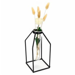Glass Test Tube Flower Plant Pot Vases Fairy Hydroponic Vase Terrarium Container