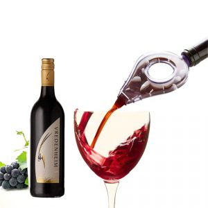 KCASA KC-KW84 Wine Decanter Essential Wine Quick Aerator Pour Spout Decanter Mini Travel Wine Filter Air Intake Pour