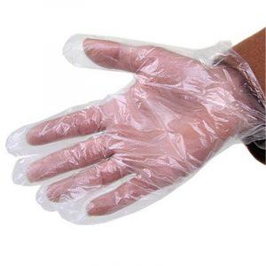 50 Stk / 1Sätt engångshandskar Bakningstillbehör Cooking Guard Tool Handske