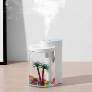 260L USB Simulation Landscape Humidifier Household Air Atomizer Night Light for Office Desktop Car Home Moisturizing And Anti-drying Atomizer