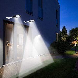 100W 200W 220V LED Street Light Vattentät säkerhetsbelysning utomhus Nattlampa vägglampa