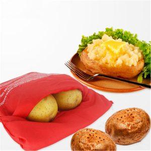 Honana CF-PB01 Mikrovågsugn Snabbtvättbar potatispåse på 4 minuters potatis tillagningspåse