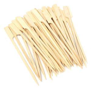 30 Stk 20 cm BBQ Bambuskevar Trägrillpinnar Köttmat Långa spettar Grillverktyg