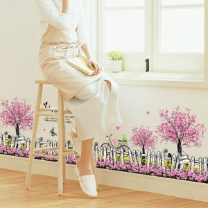 Skirting Wall Stickers Decals 20 Mönster Home Wall Window Decor Door Skirting Board Wall Line Decal